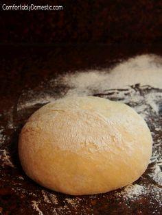 30 Minute Cornmeal Pizza Dough
