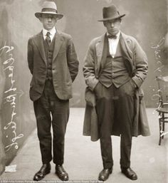 1920s Gangster Fashion   Classy Mugshots from the 1920s