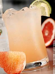 Ruby Cooler   Ingredients:   - 1 1/2 oz Belvedere Pomarancza Vodka  - 3 oz Rudy Red Grapefruit Juice  - 1 tsp sugar  - Cold tonic water    Build in an ice filled collins glass. Top with tonic water. Garnish with slices of lemon and lime.