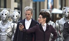 The first feature-length episode of the new Dr Who series is titled Deep Breath. Photograph: Rex