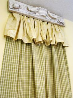 DIY Cornice Fit for a Princess! - At The Picket Fence
