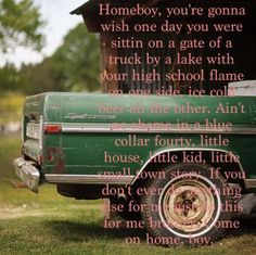 "Eric Church ""Home Boy"""