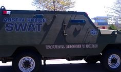 Austin Police SWAT - Tactical Rescue Vehicle #3