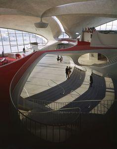 TWA Terminal JFK Airport (New York)  - Designed By Eero Saarinen
