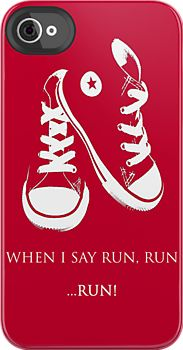 RUN!  (I got red converse and a sonic screwdriver (flashlight) for Christmas; SO doing this at one point :D :D :D :D)