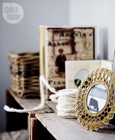 Decor accessories: Antique accents {PHOTO: Stacey Van Berkel}