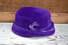 Early 1900's Gorgeous Antique Sheila Purple Velvet by LoveliesShop, $24.50