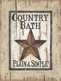 Country Bath by artist Linda Spivey