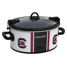 South Carolina Gamecocks Collegiate Crock-Pot® Cook Carry™ Slow Cooker....I WANT!!