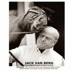 Trainer (Hall of Fame) - Jack Van Berg - February 28, 2014  #TampaBayDowns #blog #RacingInTheSunshine #sports #horses #careersinracing #athletes #racing #trainers