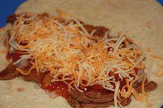 Bean burritos - cheap meal