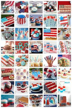 40 Amazing 4th of July Desserts - A Helicopter Mom Wish I could make the stars & stipes cake! That's incredible! Wanna try the fireworks cake & flag cupcake cake