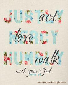 Micah 6:8
