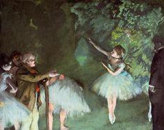 Edgar Degas, Ballet Rehearsal