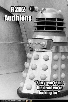 Sorry Dalek :(