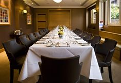 Jumeirah Lowndes Hotel, London - Meeting room private dining long table