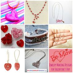 February is the month of love, and whether single or spoken for, you'll want to look your best on Valentine's Day. With these 20 Jewelry Making Designs for Valentine's Day, you'll be turning heads and making 'em swoon! Not feeling the love? These festive free jewelry patterns will help get you in the holiday spirit! | AllFreeJewelryMaking.com