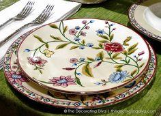Crystal Dinnerware Sets   ... Settings, Dinnerware, & Crystal :: Picture Gallery - Decorating Diva
