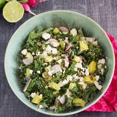 Mexican Kale Salad HealthyAperture.com