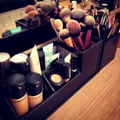 Makeup Brush Storage on Makeup Storage  Love It