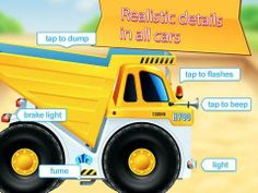 FREE: Cars in gift box (free educational and fun app for kids) - an interactive play app with 5 various vehicles (Mars rover, Moon rover, dump truck, rescue truck and a loader). Original Appysmarts score: 89/100
