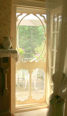 lovely screen door