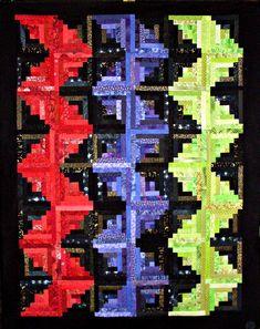 T-Zinger by Linda Rotz Miller Quilts & Quilt Tops, via Flickr