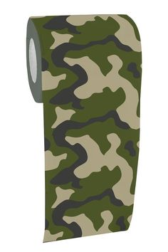 #funnygift for #fathersday idea. Camo Toilet Paper Funny Camouflage T.P.  www.ineedafunnygift.com