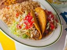 El Real Tex-Mex Café, Houston: Chicken Puffy Taco
