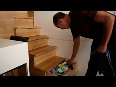 Man's brilliant small apt fits everything - Tiny, Eclectic, Amazing Spaces video