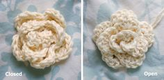 Alli Crafts: Free Pattern: No-sew Rose