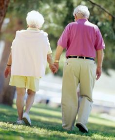 never too old for holding hands