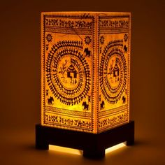 Warli Table Lamp home decor online shopping india. interior decoration ...