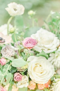 Rustic garden wedding inspiration | Photo by Christopher Nolan Photography | Read more - http://www.100layercake.com/blog/?p=77804
