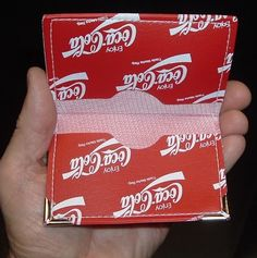 Coca Cola Soda Pop COKE BUSINESS CARD POCKET HOLDER MINT