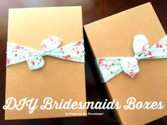 DIY Bridesmaids Gift