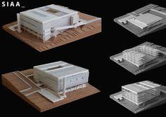© SIAA - FDE school - sao luiz, brazil - 2012, architectural model, maqueta, modulo