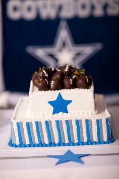 Housley Dallas Cowboy Cake Grooms Cake