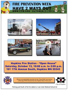 2012 Hopkins Fire Station - Open House