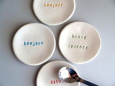 french tea plates