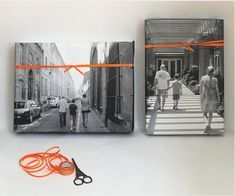 8 ideas for thing to do with all your digital photos, from wall art to DIY gift wrap.