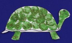 T is for Turtle Marshmallow Painted Turtle