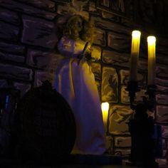 Original Haunted Mansion Attic Bride, 2013