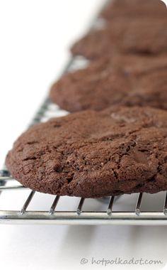 double chocolate cinnamOn cookies