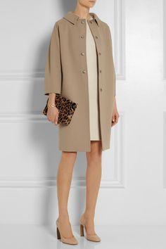 fashion lust, crystals, woolcrep coat, camel, dolce gabbana net a porter
