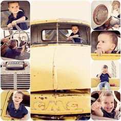 old truck...perfect for little boys!