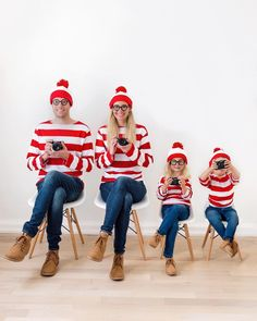 hy does Waldo wear a striped shirt? Because he doesn't want to be spotted. 🤓😂 #momjoke We made Waldo just a tad easier to find. We also
