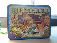 Hair Bear Bunch Lunch Box