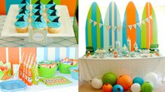 Surfs up and party down!