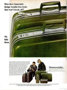 Samsonite Luggage (1967)